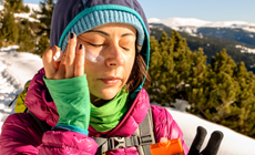 crema solare d'inverno